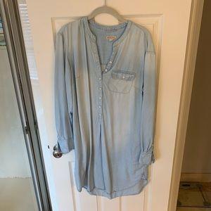 Longsleeve tunic dress